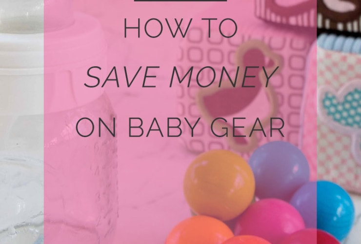 How We Do It: Saving on Baby Gear