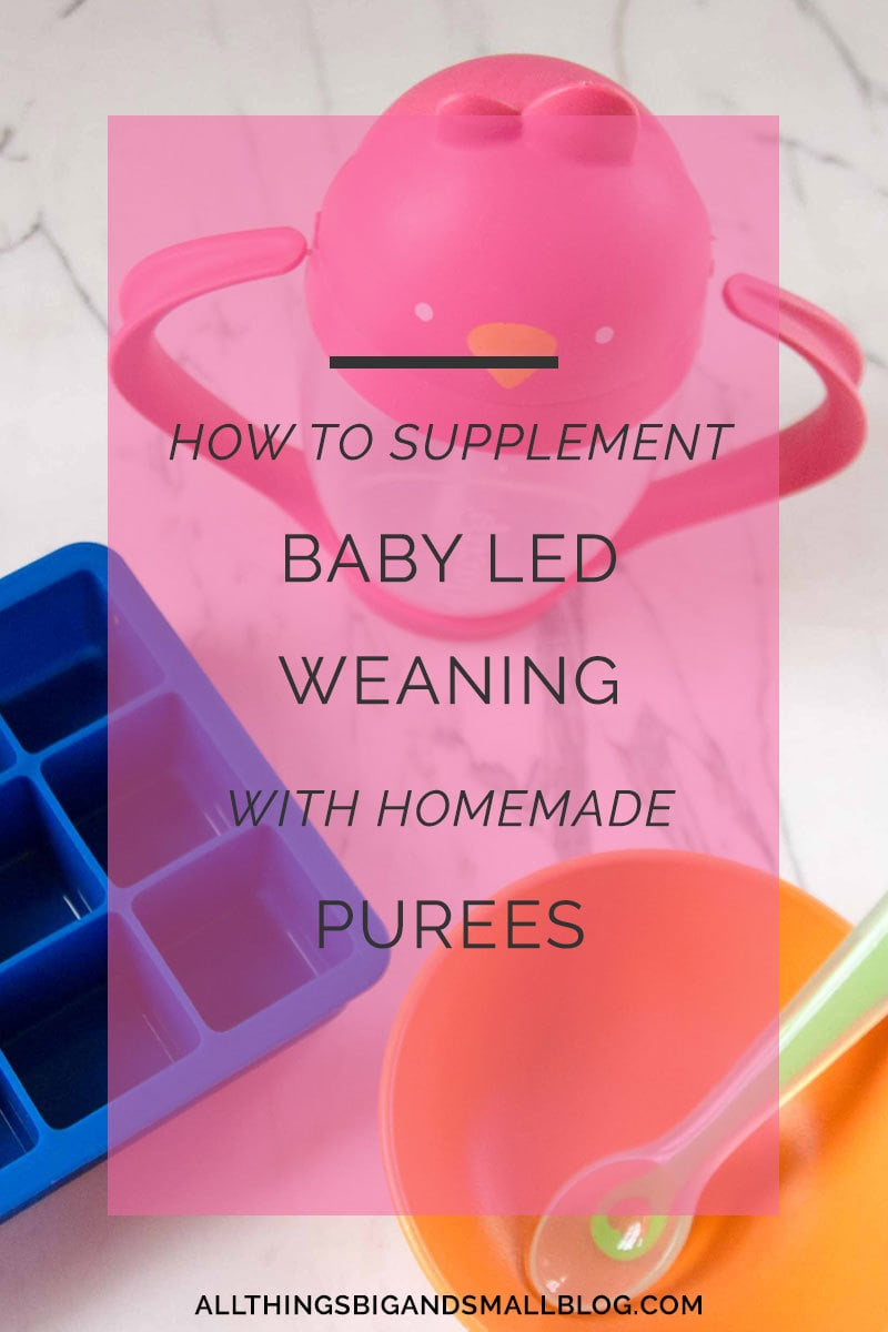 how to supplement baby led weaning
