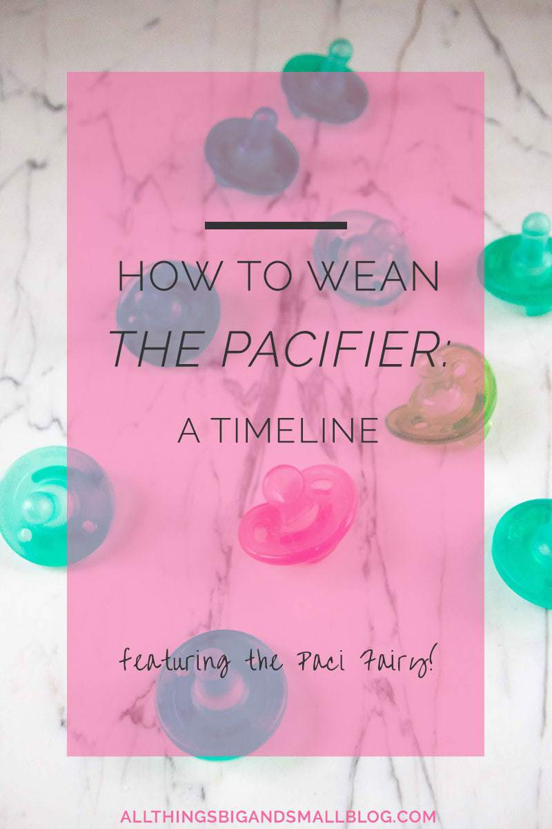 how to wean the pacifier