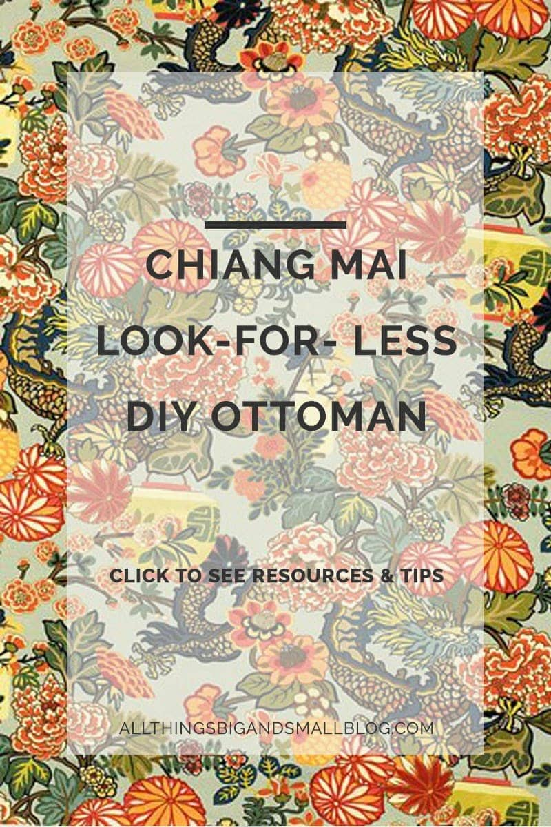 PG-look-for-less-chiang-mai-ottoman - Chiang Mai Look Alike DIY Ottoman by popular home decor blogger DIY Decor Mom
