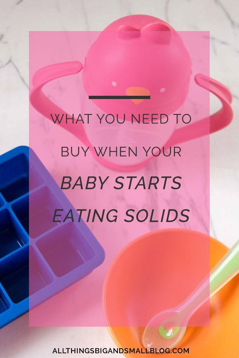 Starting Solids Gear: 6- 13 months