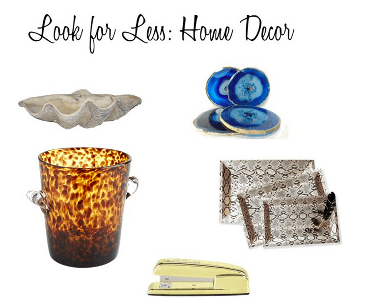 Look for Less Home Accessories and Decor