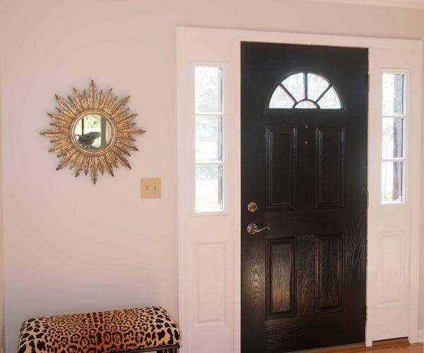How To Paint Fiberglass Door