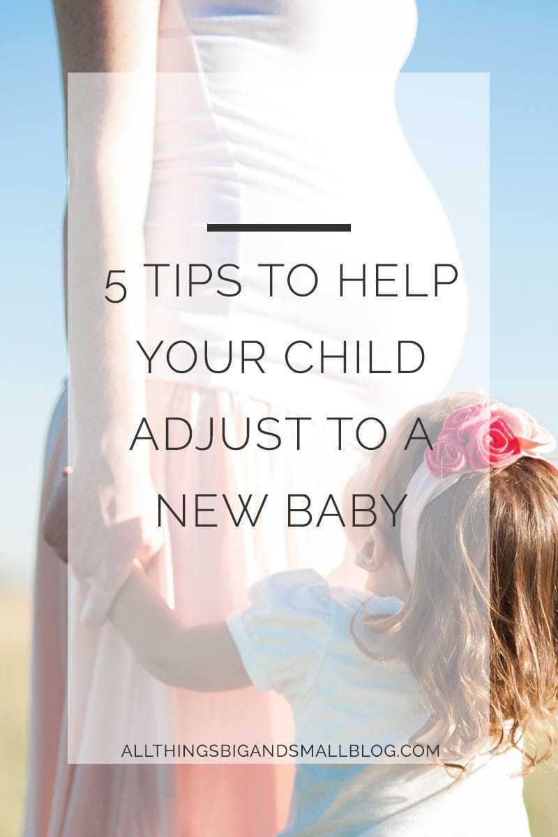help your kid adjust to new baby