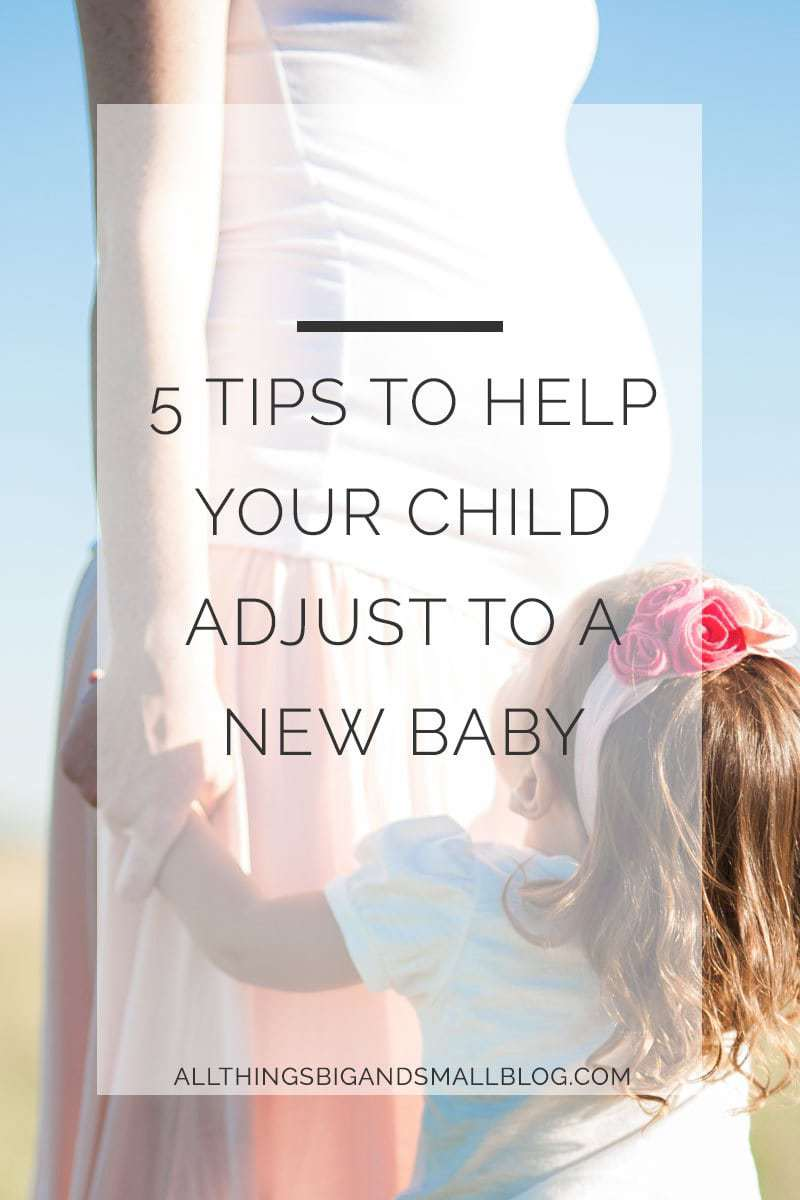 help child adjust new baby