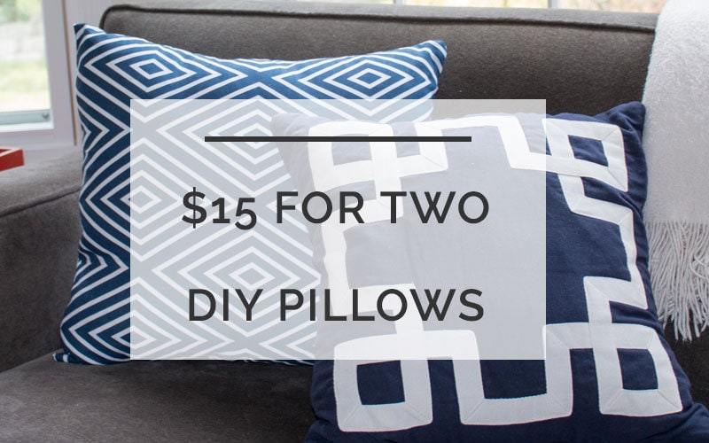 diy pillow
