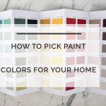 How to Pick a Paint Colors for your House in 5 Steps