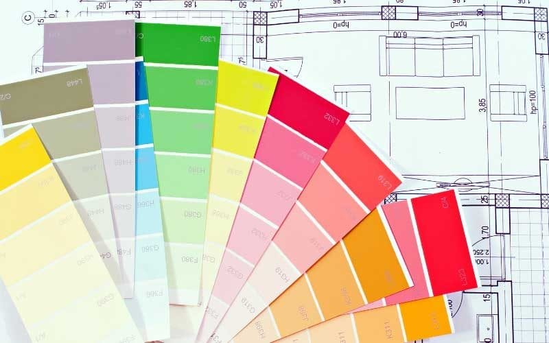 picking paint colors for your home