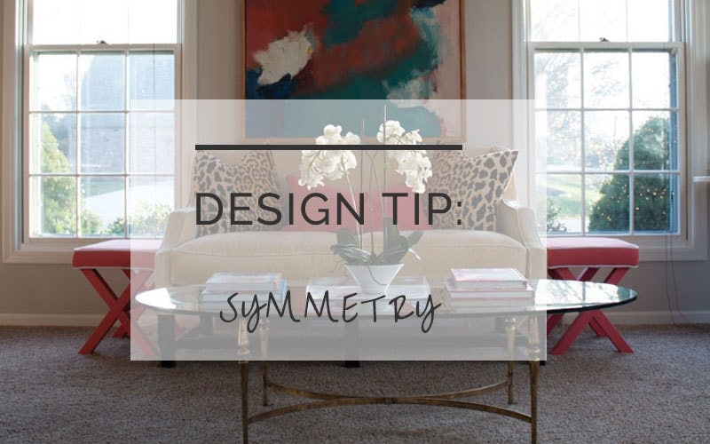 decorating tricks symmetry