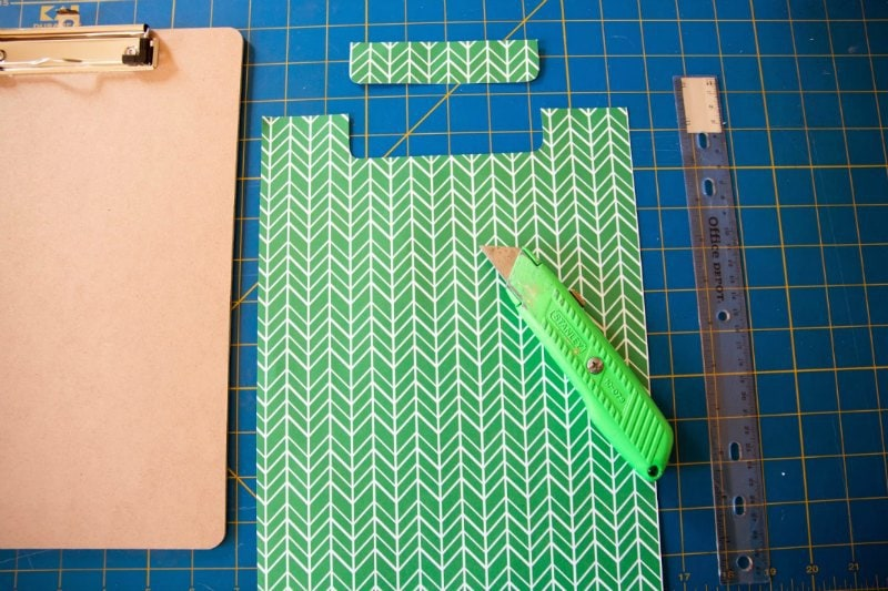 diy decorative clipboard