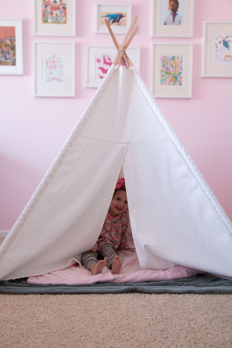 diy land of nod teepee
