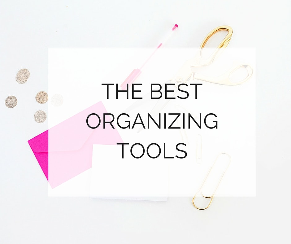 best organizing tools