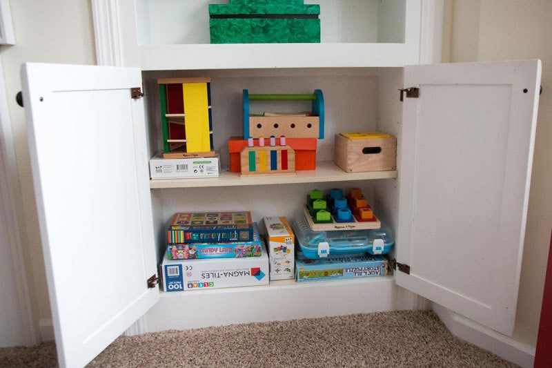 beautiful-organized-nursery-2 - Montessori Gifts that Kids AND Parents Will Love by popular mom blogger DIY Decor Mom