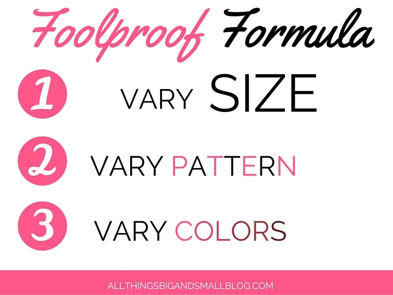 HOW TO MIX PATTERNS- All Things Big and Small Blog