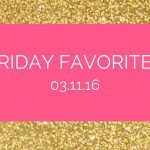 Five for Friday: 03-11-16