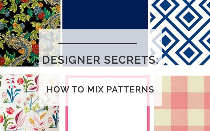 How to Mix Fabric Patterns- All Things Big and Small