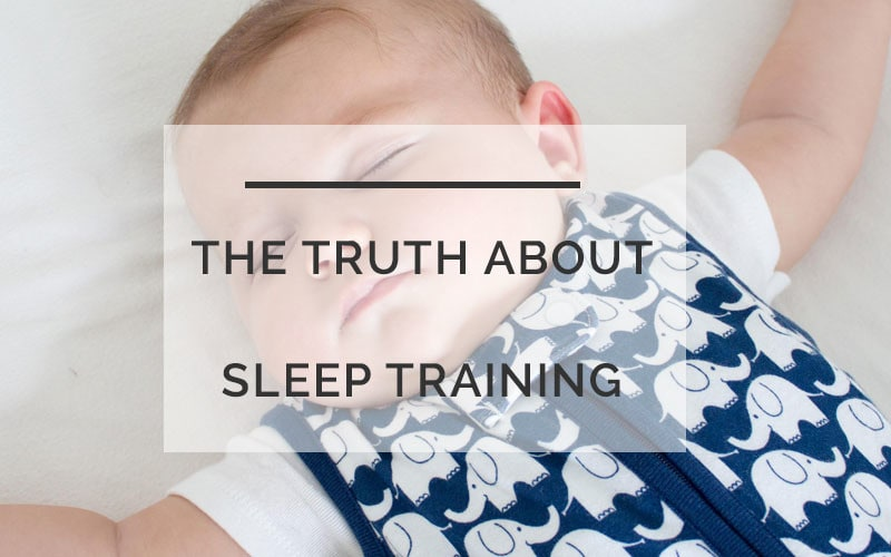sleep train myths