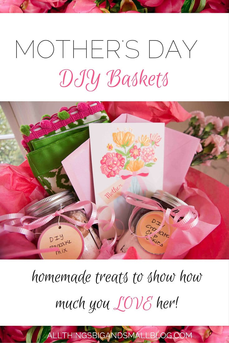 #CelebrateAmazingMoms #ad - Celebrate the amazing moms in your life by making a DIY basket full of DIY pampering goodies. Find out more at All Things Big and Small Blog!