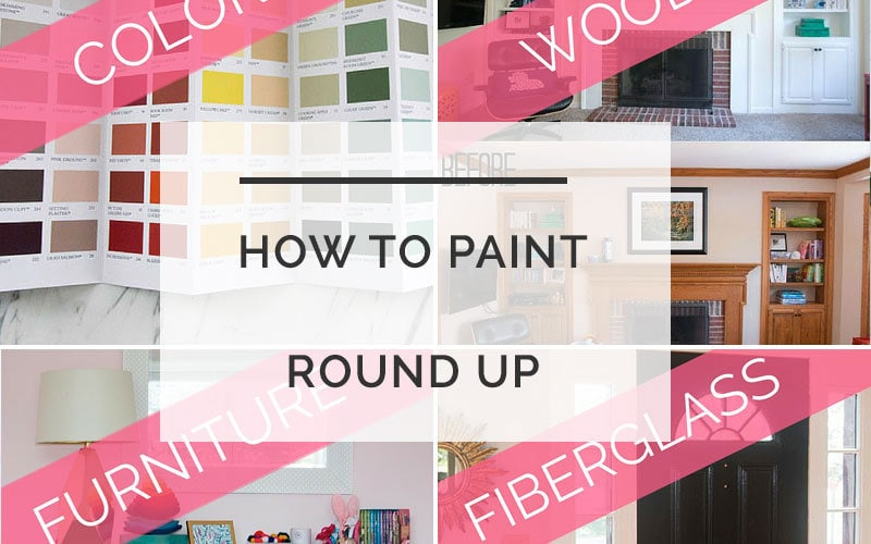 how to paint everything