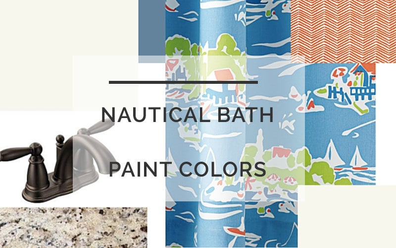 nautical bathroom color scheme
