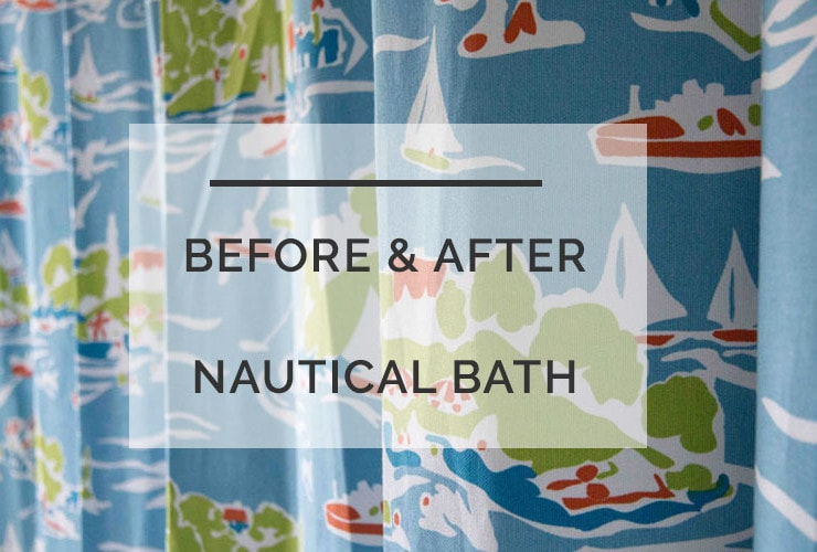 Before-and-After Kids Nautical Bathroom: $400 Renovation