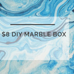 $8 DIY Marble Box: Quick Budget-Friendly DIY