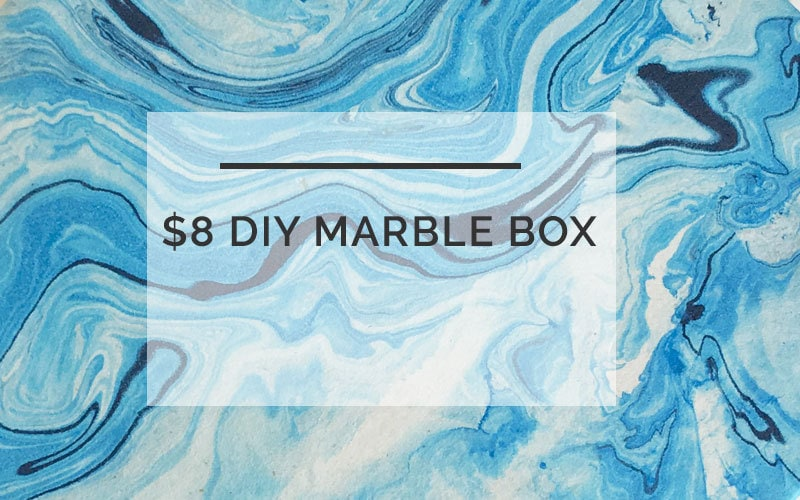 $8 DIY Marble Box: Quick Budget-Friendly DIY