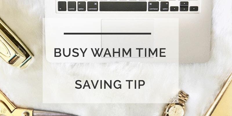 busy mama time saving tip