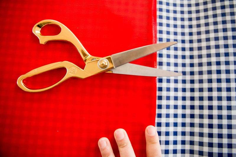diy-oilcloth-placemats-2 - DIY Oilcloth Placemats by home decor blogger DIY Decor Mom