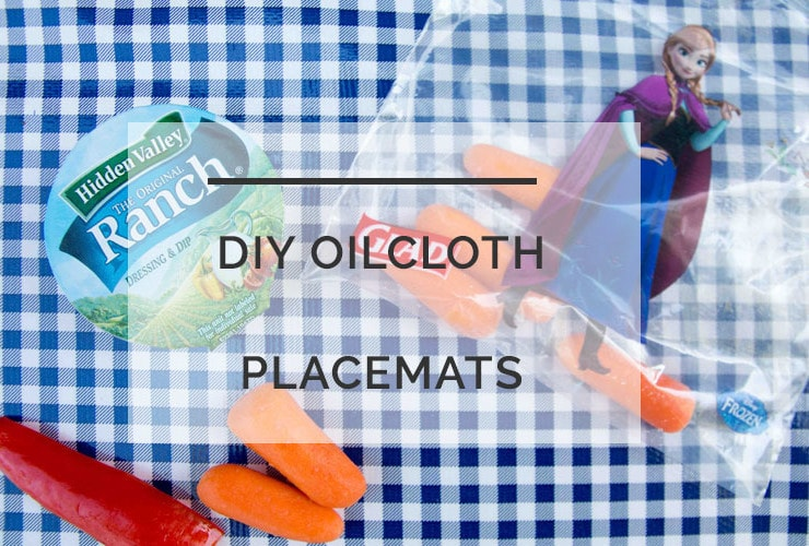 DIY Oilcloth Placemats: Step-by-Step Tutorial for Easy Lunches On-the-Go