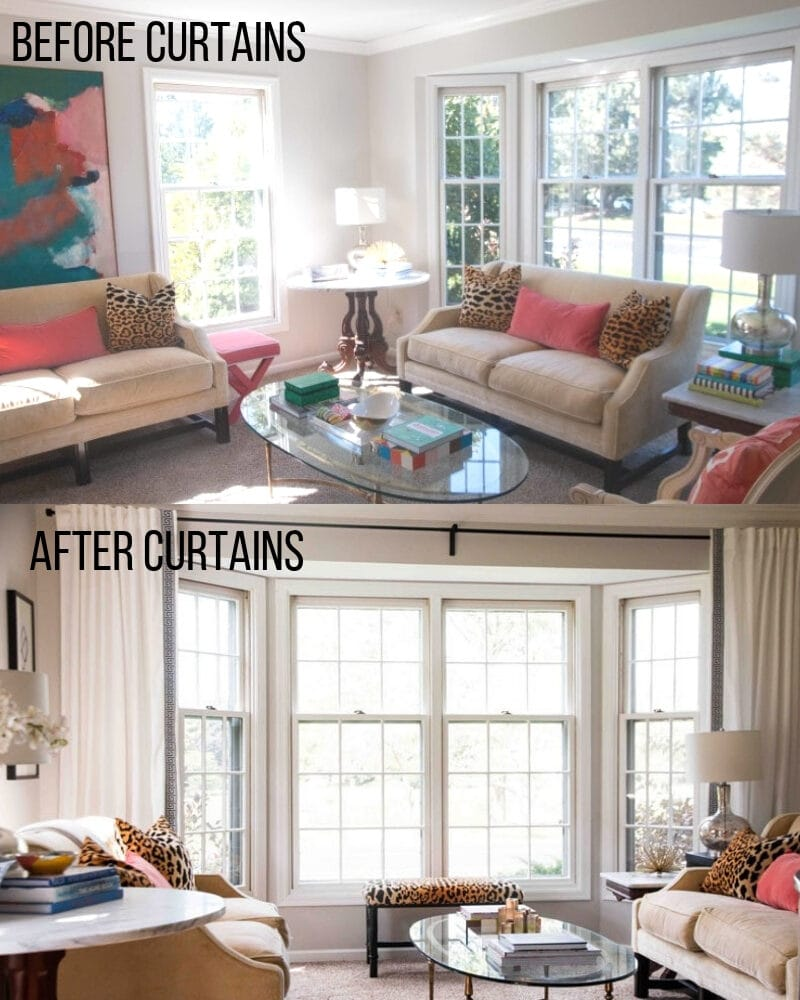 interior design mistakes you are making--how to install curtains in your home
