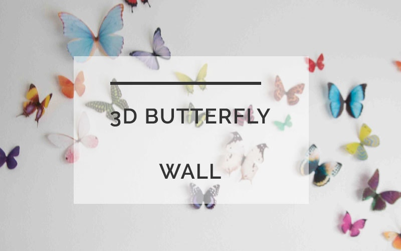 Nursery Butterfly Wall