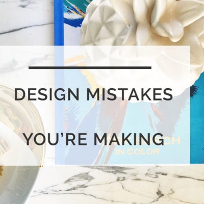 Designer Secrets--Are you making these common decorating mistakes? REPIN and READ! Learn the EXACT measurements that you should use when decorating your house! PLUS get FREE DECORATING RESOURCES! DIY Decor from All Things Big and Small Blog!