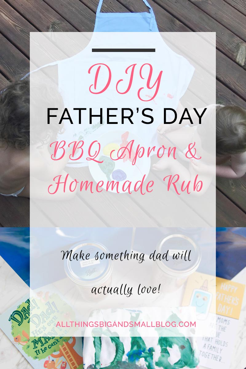 DIY Fathers Day Gift- a DIY gift your kids can make that is both budget-friendly and dad will love! More DIY tips & tricks from All Things Big and Small Blog! #ad #CelebrateAmazingDads #AmericanGreetings