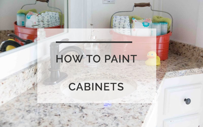 How to Paint Cabinets Like a Pro: The SECRET That Makes All The Difference