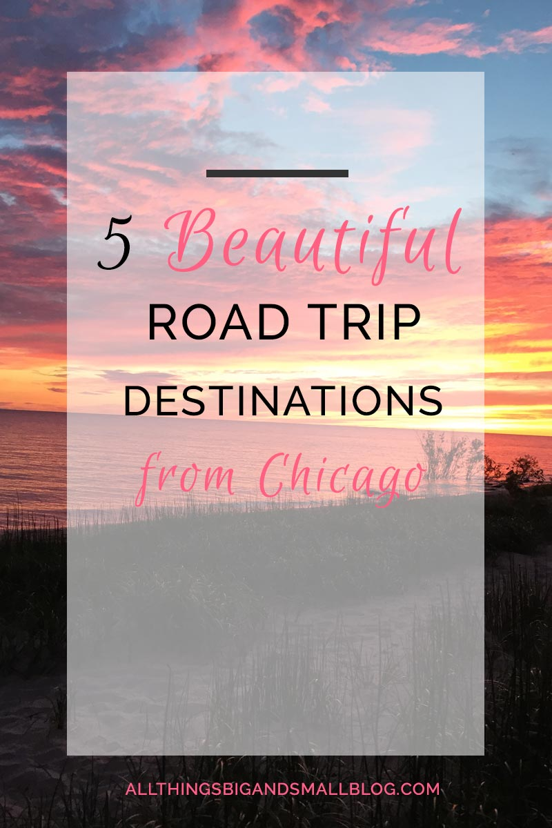 Road Trip Destinations that are ABSOLUTELY BEAUTIFUL in the Midwest, all driving distance from Chicago! You have to visit these! REPIN and READ NOW! #RoadTripOil #ad @Pennzoil