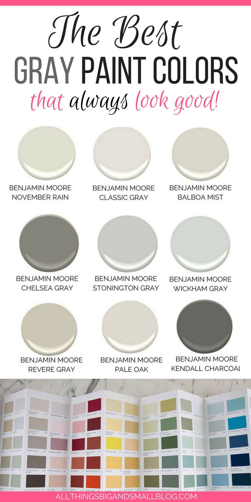 The Best Gray Paint Colors Never Fail Paints November 2019