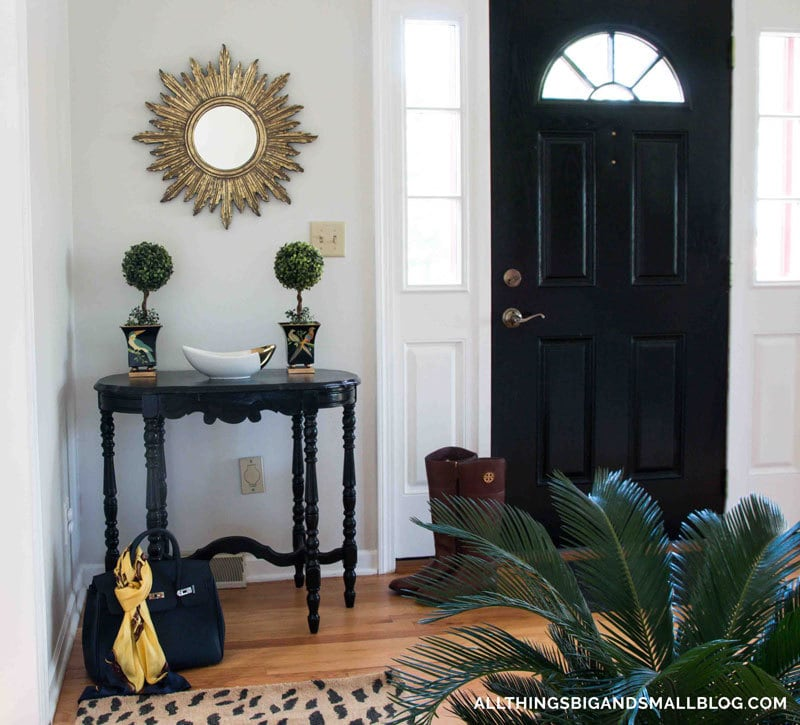 how to paint fiberglass door | loved this step-by-step tutorial on how to paint your front door! - How To Paint Fiberglass Door by home decor blogger DIY Decor Mom