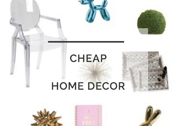 Cheap Home Decor: How To Decorate Your Home on a Budget