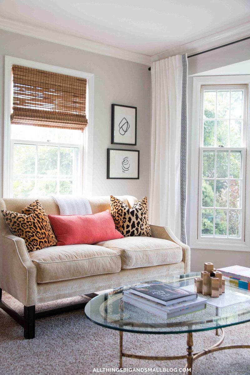 Budget Friendly Diy Home Decorating Ideas Tutorials 2017: DIY Greek Key Curtains