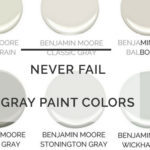 The Best Gray Paint Colors For Your Home: 4 Never Fail Grays