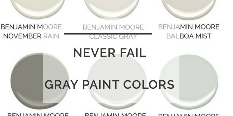 best gray paint colors