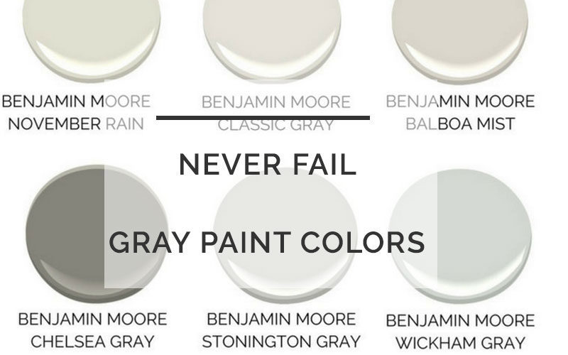 best gray paint colors - The Best Gray Paint Colors For Your Home: 4 Never Fail Grays by popular home decor blogger DIY Decor Mom