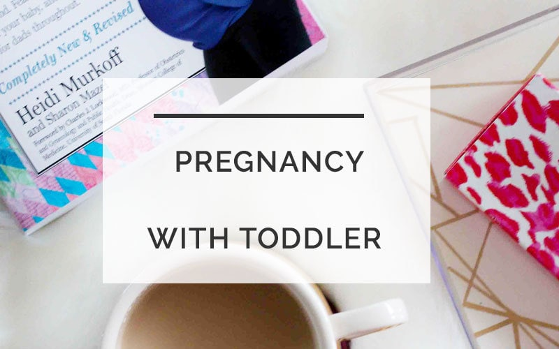 How to Take Care of Yourself When Pregnant With a Toddler