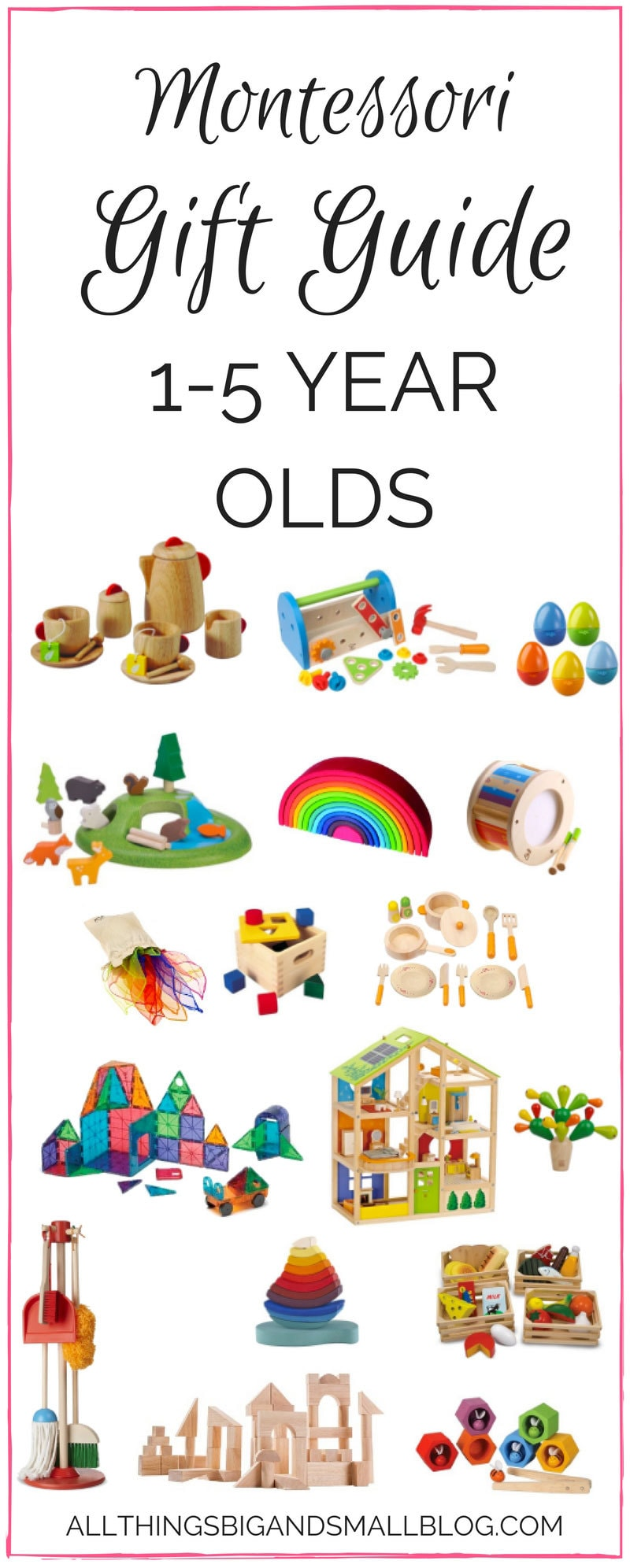 montessori gift guide for toddlers
