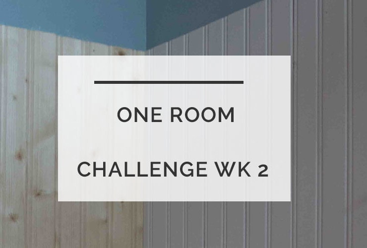 One Room Challenge Week 2: Powder Room