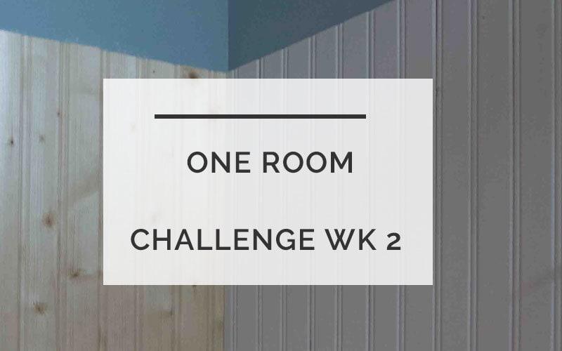 One Room Challenge Week 2: Powder Room