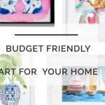 Budget Friendly Art: One Room Challenge Week 4