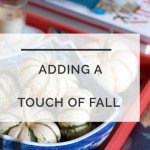 Fall Decor: The Easiest Blue and White Tablescape