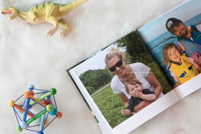 making photo books for busy moms